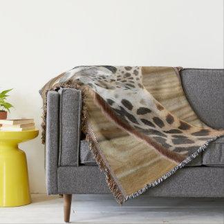 Giraffen-Bild-Wurfs-Decke Decke