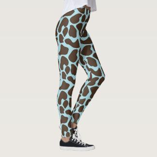 Giraffen-Druck-Muster Leggings
