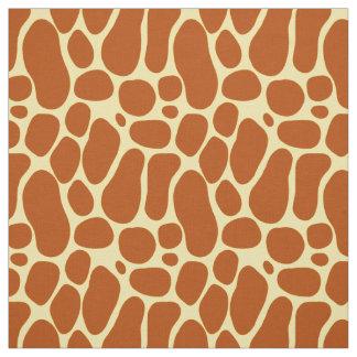 Giraffen-Druck-Muster Stoff