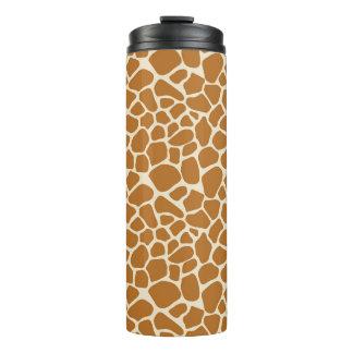 Giraffen-Druck-Trommel Thermosbecher