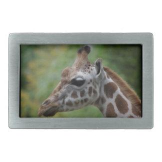Giraffen-Gürtelschnalle Rechteckige Gürtelschnalle