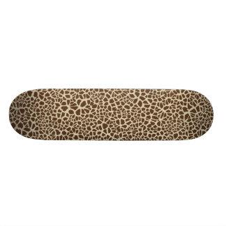 Giraffen-Haut-Muster-Entwurf Skateboard Deck
