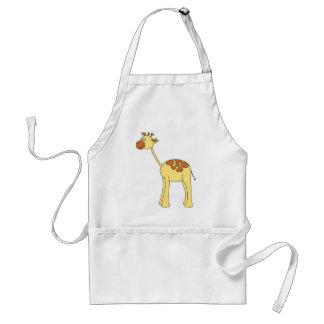 Giraffen-Karikatur Schürze
