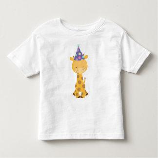 Giraffen-Kindergeburtstag Tshirts