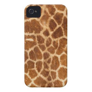 Giraffen-Körper-Pelz-Haut-Kasten-Abdeckung iPhone 4 Case-Mate Hüllen