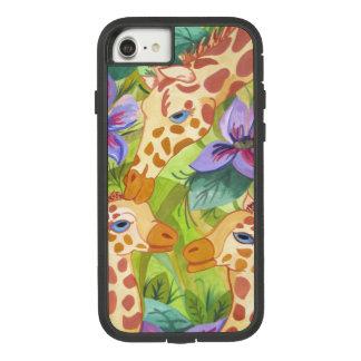 Giraffen-Küsse, Mutter und Babys Case-Mate Tough Extreme iPhone 8/7 Hülle