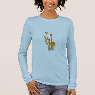 Giraffen Langarm T-Shirt