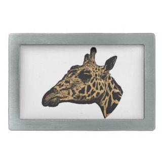 Giraffen-Logo Rechteckige Gürtelschnallen