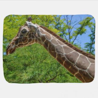 Giraffen-Ölgemälde Babydecke