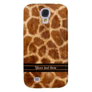 Giraffen-Pelz-Muster - fertigen Sie besonders an Galaxy S4 Hülle