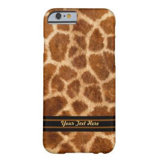 Giraffen-Pelz-Muster - kaum dort - personifizieren Barely There iPhone 6 Hülle