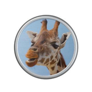 Giraffen-Porträt bluetooth Lautsprecher