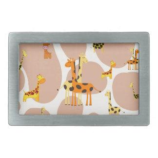 Giraffen Rechteckige Gürtelschnalle