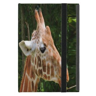 Giraffen-rechtes Gesicht iPad Mini Hülle