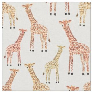Giraffen-Safari-Druck Stoff