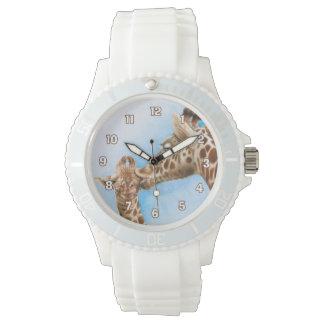 Giraffen-u. Kalb-Uhr Uhr