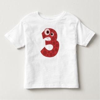 Giraffenentwurf Kleinkind-T-Shirt der Nr.-3 Kleinkinder T-shirt