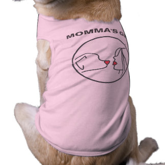 Girl Mutter Hundeshirt Top