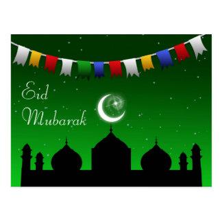 Girlande Ramadans Eid - islamische Postkarte