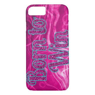 Girlie Glitter geboren, iPhone 7 Fall zu gewinnen iPhone 7 Hülle