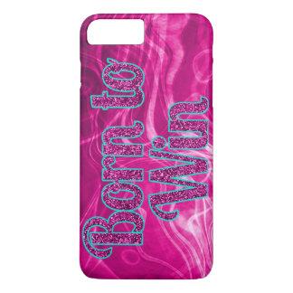 Girlie Glitter geboren, iPhone 7 Plusfall zu iPhone 8 Plus/7 Plus Hülle