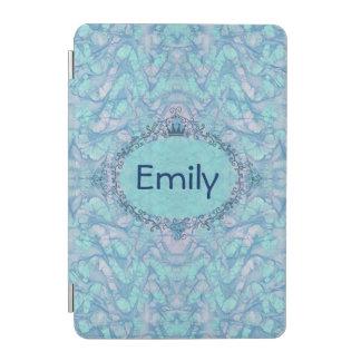 Girly Aqua-blaue gefärbte Krawatte Ihr iPad Mini Hülle