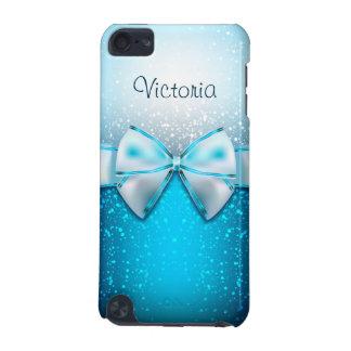 Girly blauer Touch-Kasten des Glitter-Feiertags-5G iPod Touch 5G Hülle