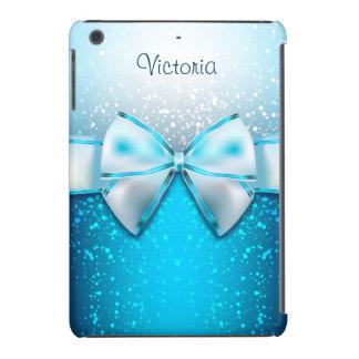 Girly blaues Glitter-Feiertag iPad Minifall iPad Mini Retina Hülle