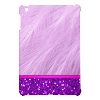 Girly Bling Braut-Mamma-Monogramm-niedlicher lila iPad Mini Hülle