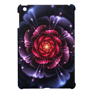 Girly Blumenrote Rose Savvy glattes iPad Minifall iPad Mini Cover