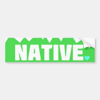 Girly Colorado-Eingeboren-Autoaufkleber Autoaufkleber