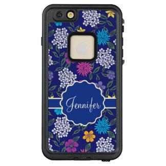 Girly Frühlings-und Sommer-wilde Blumen, auf LifeProof FRÄ' iPhone 6/6s Plus Hülle