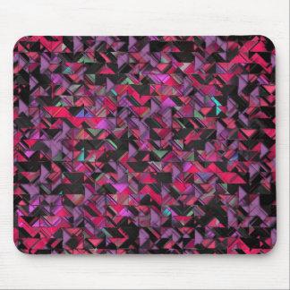 Girly geometrische Explosion Mousepad