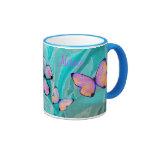 Girly Geschenk! Schmetterlings-Tasse, addieren NAM