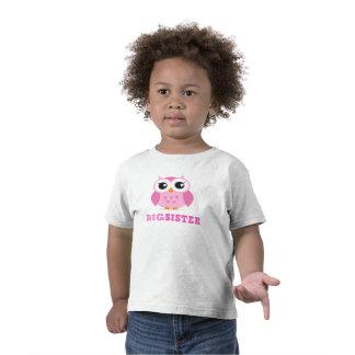 Girly große Schwester der niedlichen rosa Cartoone Shirt
