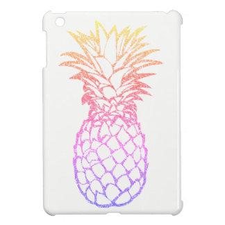 Girly Imitat-Glitter-Ananas weißes iPad Minifall iPad Mini Hülle
