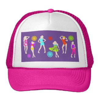 Girly Mädchen-Mode-Modelle Kultcaps
