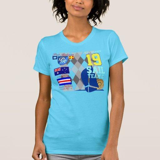 Girly MarineRaute des Australien-Flaggen-Segel-Tea