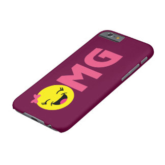Girly OMG Emoji Barely There iPhone 6 Hülle