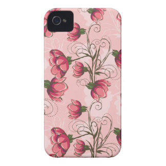 Girly rosa BlumeniPhone 4s Fall iPhone 4 Etuis