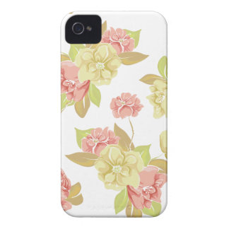 Girly rosa BlumeniPhone 4s Fall iPhone 4 Hülle