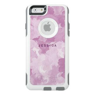 Girly rosa BlumenRosen OtterBox personalisiert OtterBox iPhone 6/6s Hülle