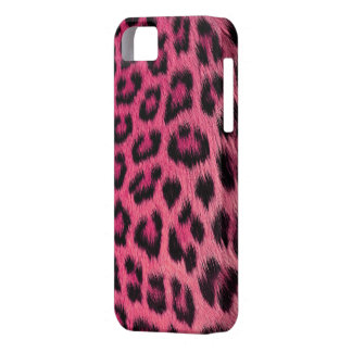 Girly rosa Leopard-Druck iPhone 5 Fall (hohe Res.) iPhone 5 Hüllen