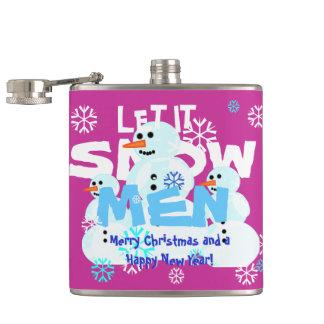 Girly Rosa ließ es schneien MännerSnowmen