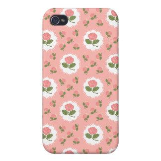 Girly rosa Rosen Hülle Fürs iPhone 4