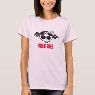 girly Schädel T-Shirt