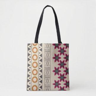 Girly Stammes- böhmische Strand-Taschen-mit Tasche