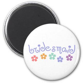 Girly-Stichwort Brautjungfer Magnete