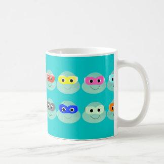 girly Teams der Tassenschildkröten Kaffeetasse