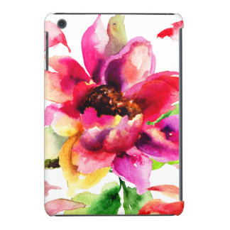 Girly Vintages rosa tropisches mit BlumeniPad iPad Mini Hülle
